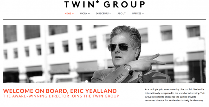Eric signs with TWIN* GROUP Germany